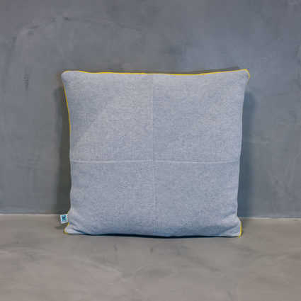 thumb cushion serra yellow grey