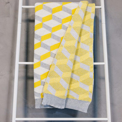 thumb Throw azulejo Aveiro Yellow