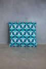 big cushion azulejo lisboa blue
