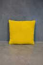 big cushion serra yellow grey