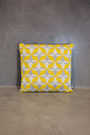 big cushion azulejo lisboa yellow